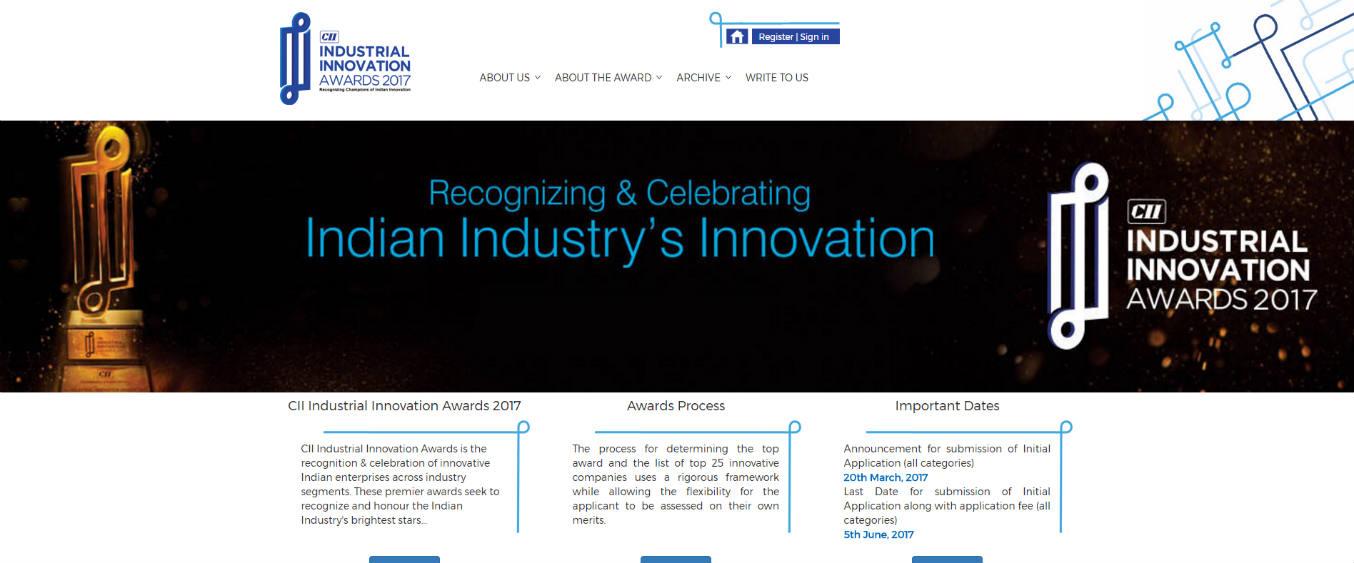 CII Industrial Innovation Awards